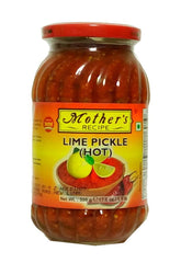 Mothers Recipe Lime Pickle Hot 500g