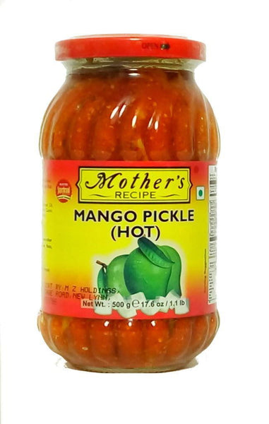 Mothers Recipe Mango Pickle Hot 500g