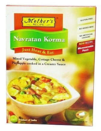 Mothers Recipe (Heat & Eat) Navratan Korma 300g