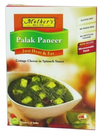 Mothers Recipe (Heat & Eat) Palak Paneer 300g
