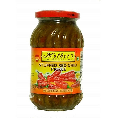Mothers Recipe Stuffed Red Chili Pickle 500g