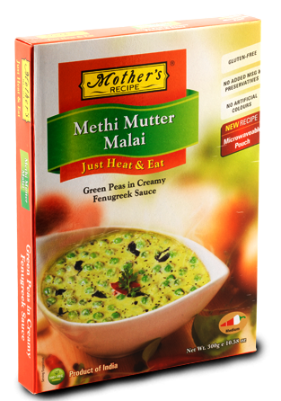 Mothers Recipe Methi Mutter Malai 300g