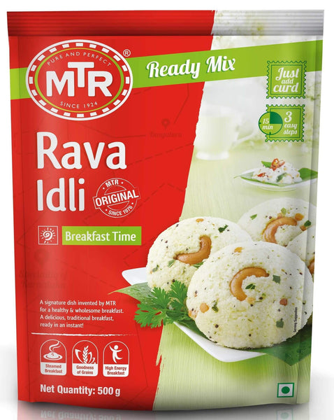 MTR Rava Idli Ready Mix 500g