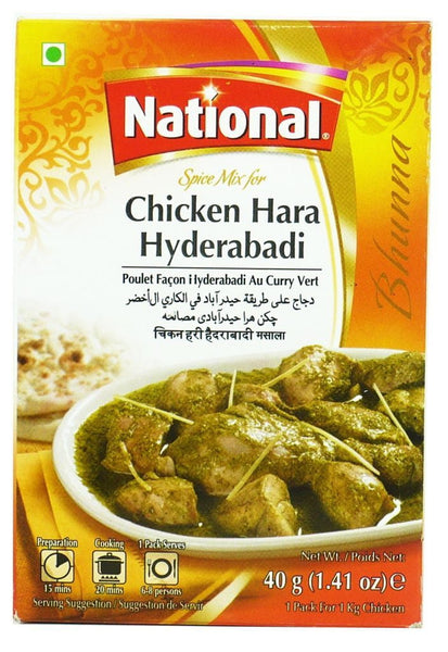 National Chicken Hara Hayderabadi 40g