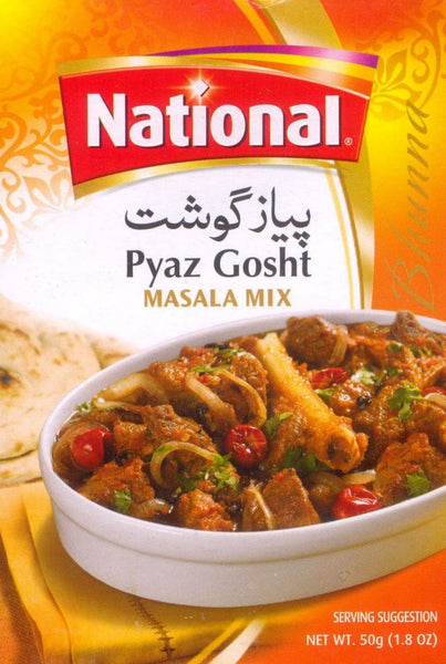 National Pyaz Gosht 50g