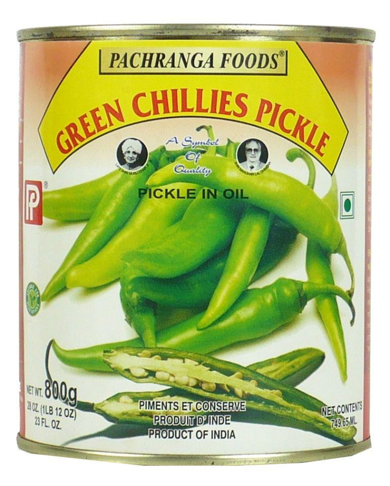 Pachranga Green Chilli Pickle 800g