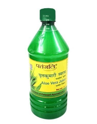 Patanjali Aloe Vera Juice with Fibre & Orange Juice 1L