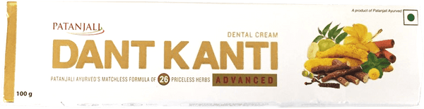 Patanjali Dant Kanti Advanced Dental Cream 100g