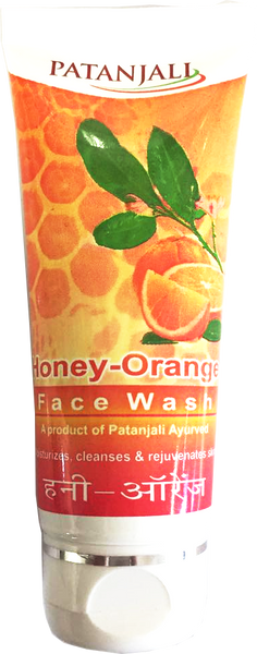 Patanjali Honey Orange Face Wash 60g