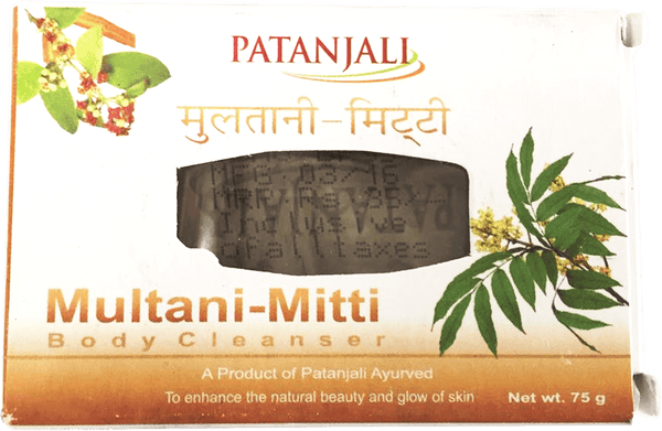 Patanjali Multani Mitti Body Cleanser Soap Bar 75g