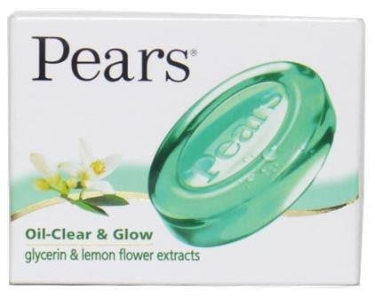 Pears Oil-Clear and Glow Bath Soap bar