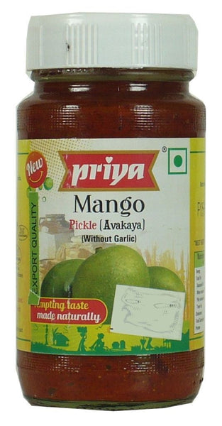 Priya Mango Pickle (without garlic) 300g