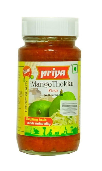 Priya Mango Thokku Pickle (without garlic) 300g