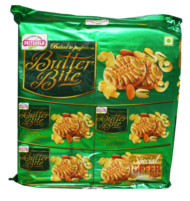 Priya Gold Butter Bites Pistachio & Almond Cookies 750g