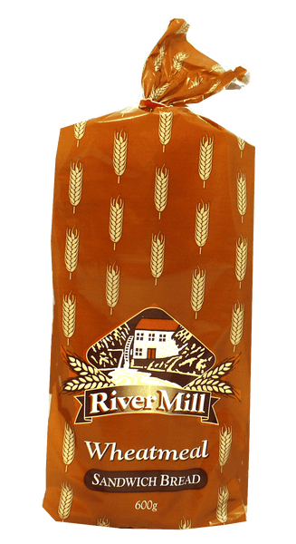RiverMill Wheatmeal Sandwich Bread 600g