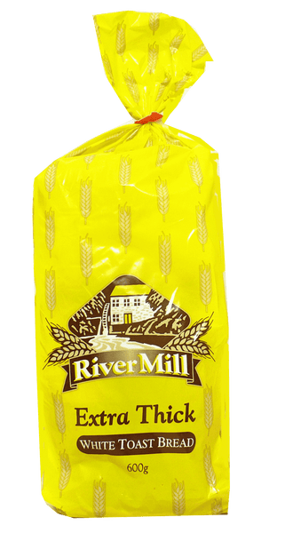 RiverMill Extra Thick White Toast Bread 600g
