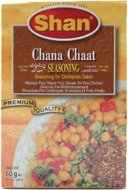 Shan Chana Chaat Seasoning 60g
