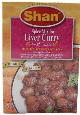 Shan Liver Curry Spice Mix 50g