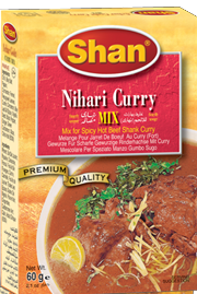 Shan Nihari Curry Mix 50g
