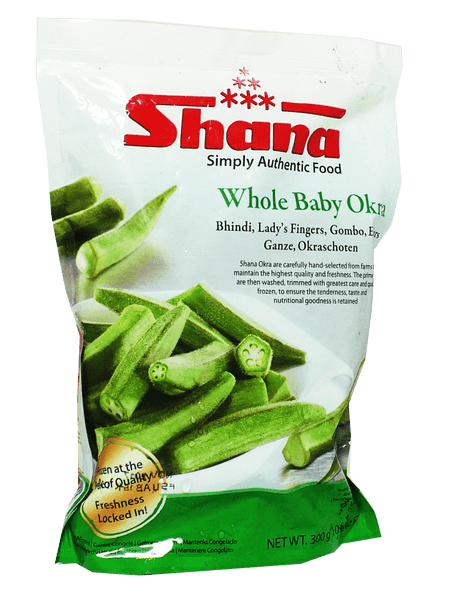Shana Baby Whole Okra 300g