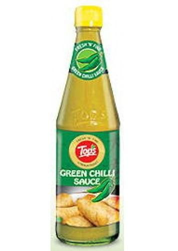 Tops Green Chilli Sauce 650g