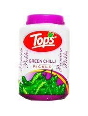 Tops Green Chilli Pickle 1kg
