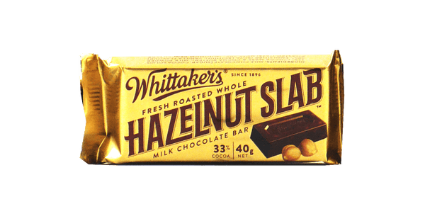 Whittaker's Hazelnut Slab 40g
