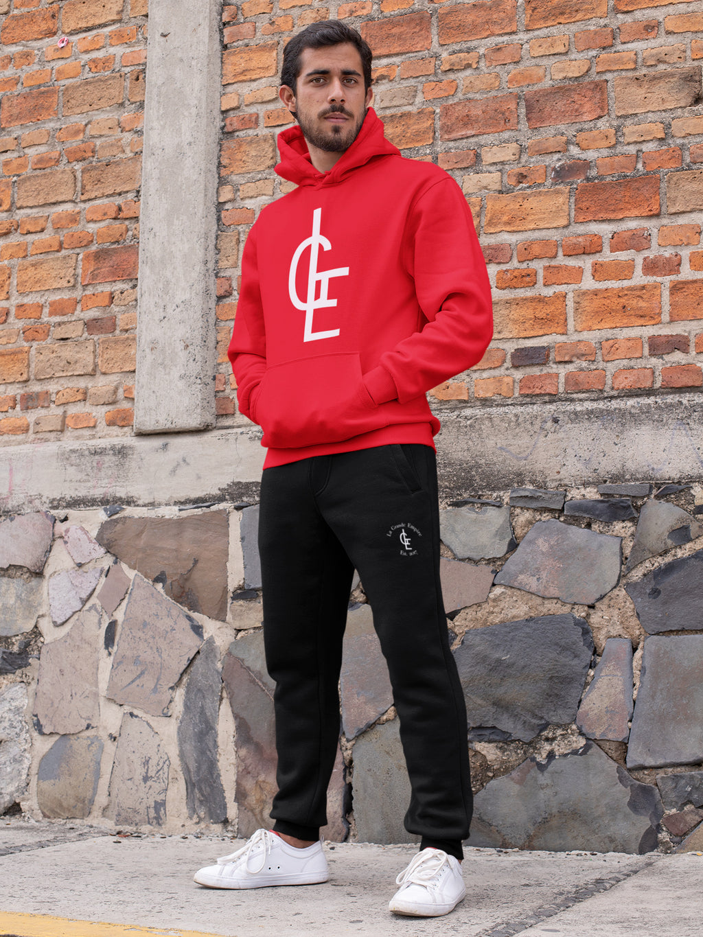 Red/Black LGE Sweatsuit