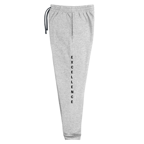Black EXCELLENCE Unisex Joggers