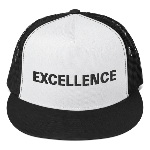 Black EXCELLENCE Trucker Cap