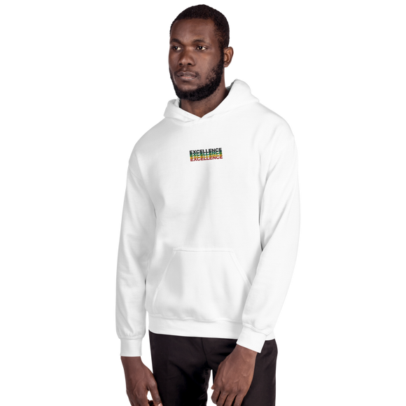 Embroidered Black EXCELLENCE Culture Hoodie