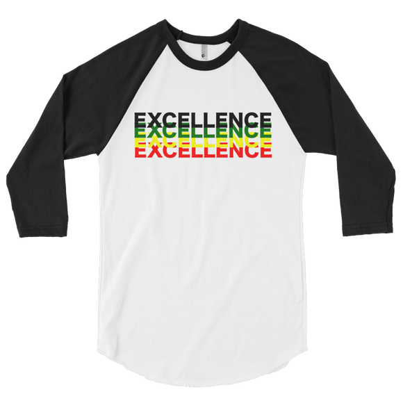 Black EXCELLENCE Culture 3/4 sleeve
