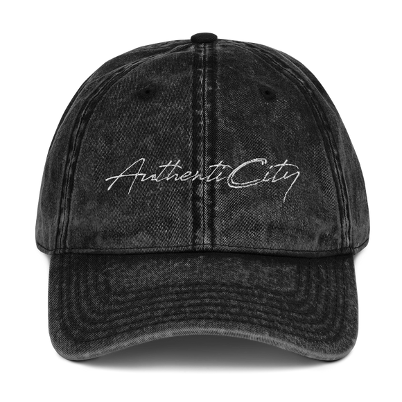 AuthentiCity Vintage Dad Cap