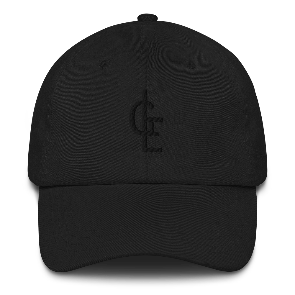 Black on Black LGE Dad cap
