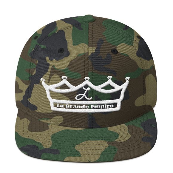 Camo LGE Royal Snapback Hat