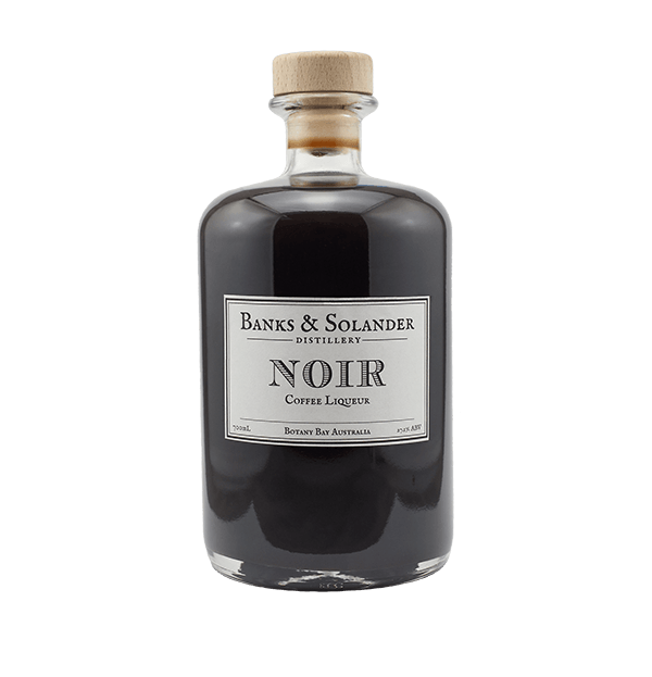 Banks & Solander Noir Coffee Liqueur - 700ml