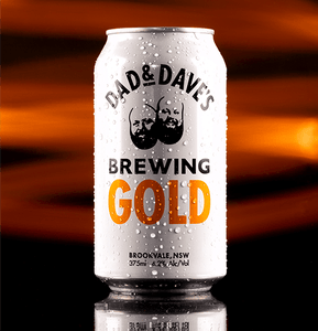 Dad & Dave's Brewing Gold Beer Online - Craftdrinksmarket.com.au