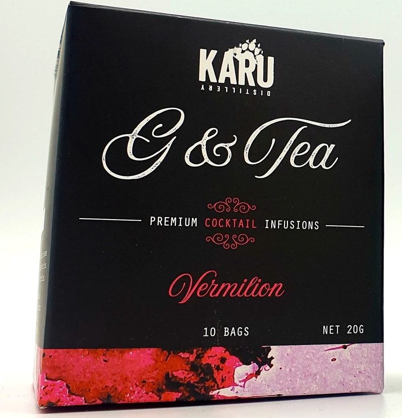 Karu G&Tea Vermillion Cocktail Infusion