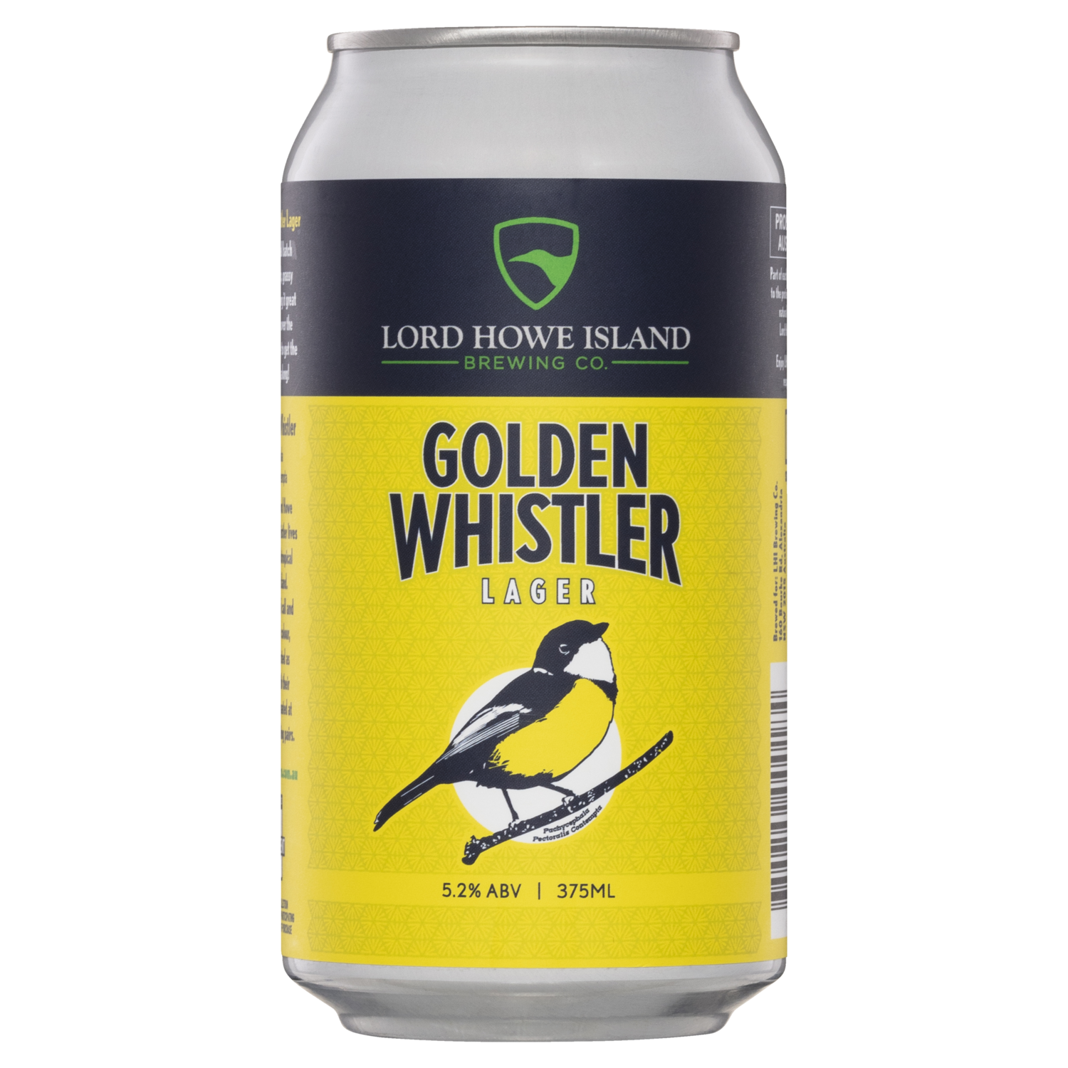 Lord Howe Brewing Co Golden Whistler Lager - 24 Case