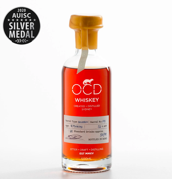 OCD WHISKEY LIMITED EDITION BARREL 04 - 700ml