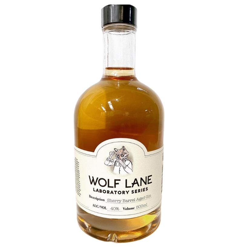 Wolf Lane Sherry Barrel Aged Gin - 500ml
