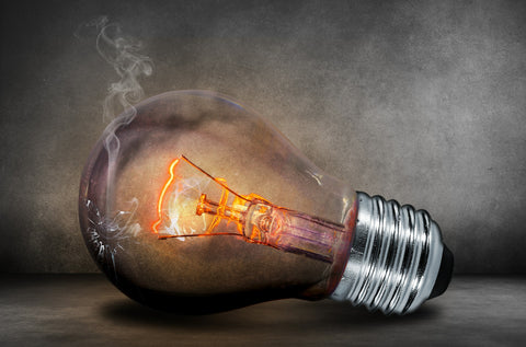 Incandescent bulb burn out