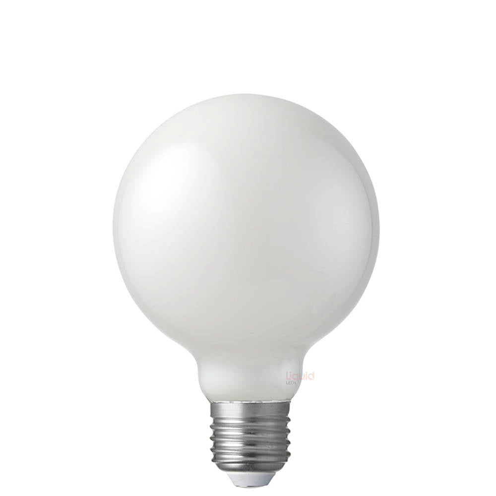 6W 12-24 Volt G95 Opal Dimmable LED Globe (E27)