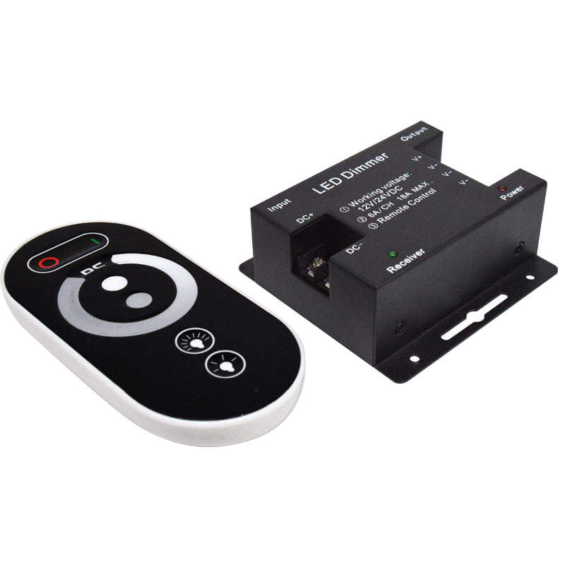 12-24 Volt DC Dimming Switch with Wireless Remote