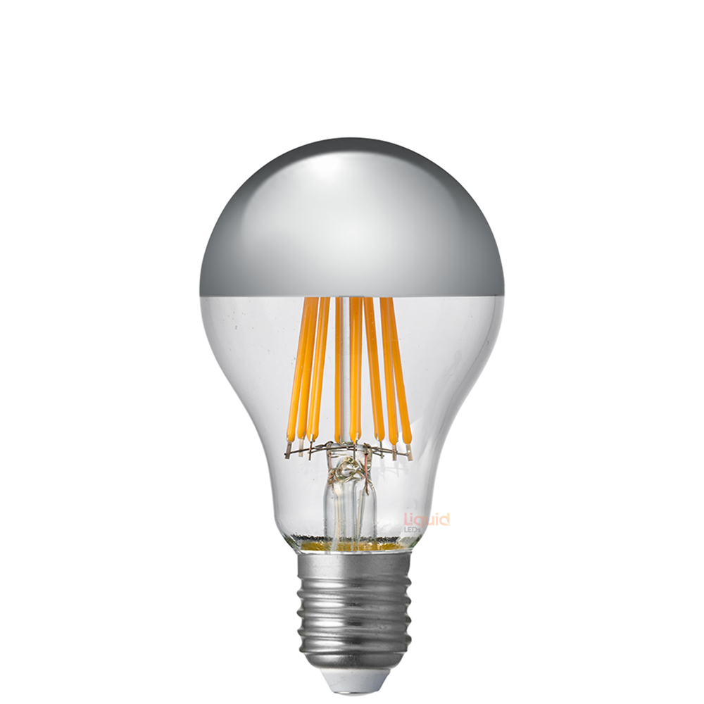 14W GLS Silver Crown LED Dimmable Light Bulb (E27)