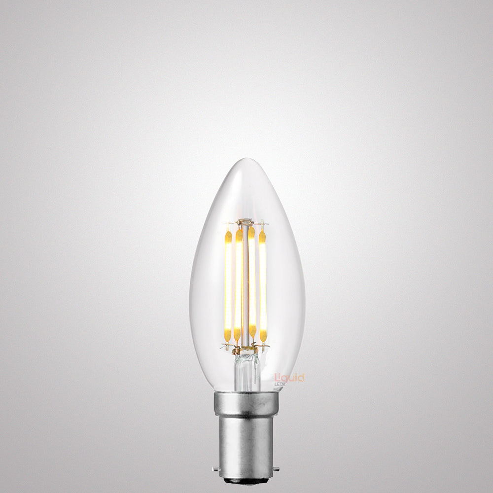 4W Candle Dimmable LED Bulb (B15) Clear in Natural White