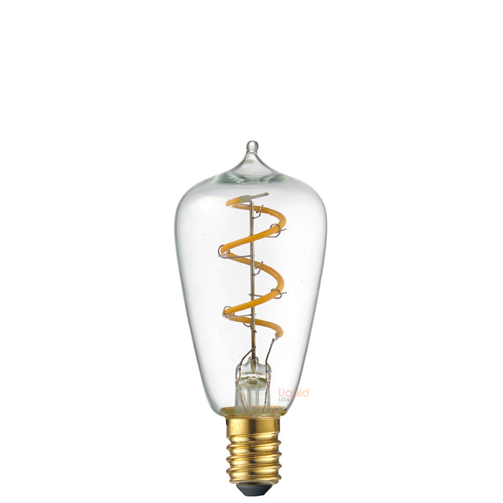 4W Mini Edison Spiral LED Bulb (E14) in Extra Warm White