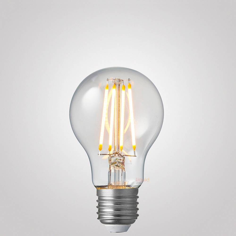 6W 12-24 Volt GLS Dimmable LED Filament Light Bulb (E27)
