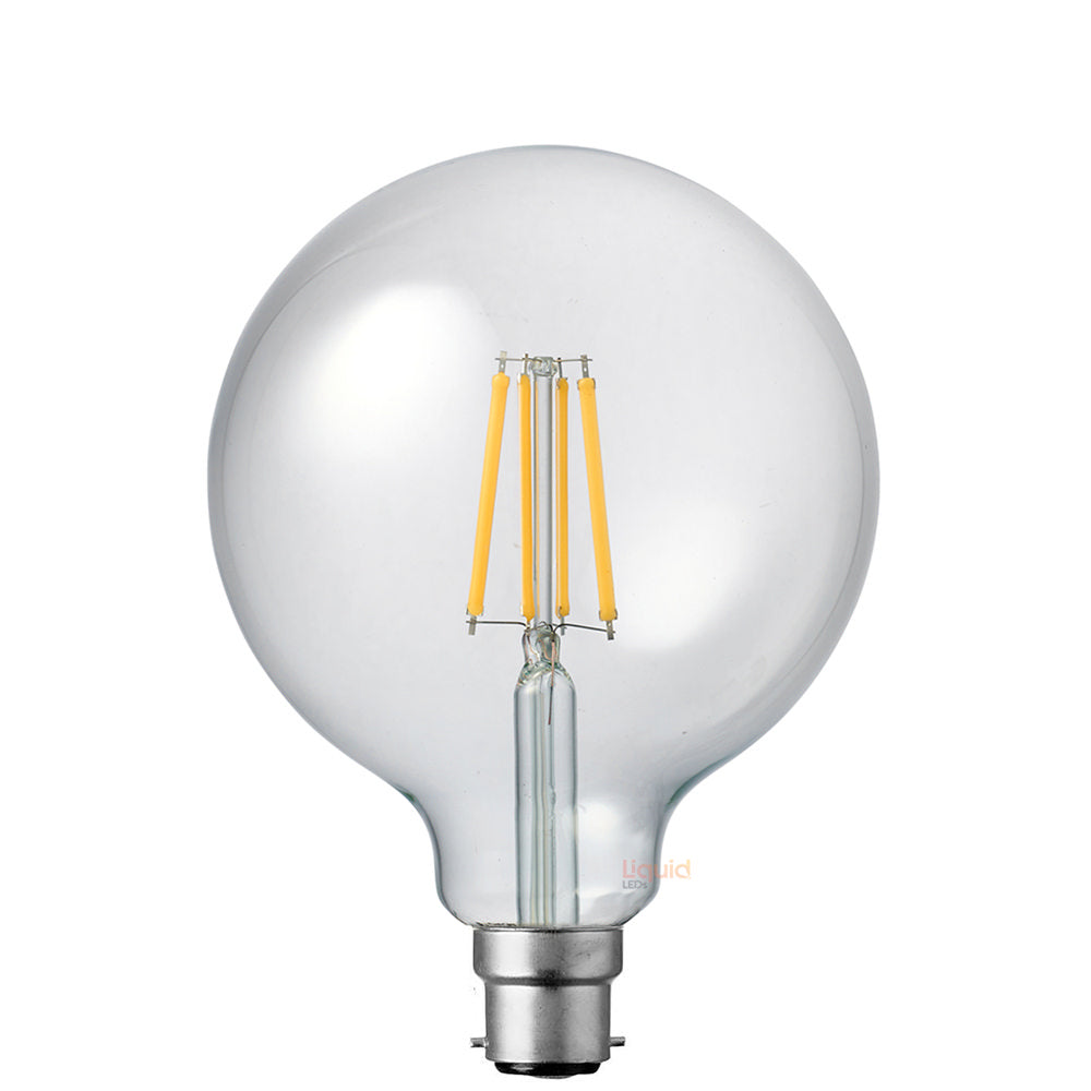 8W G125 Dimmable LED Light Globe (B22) in Natural White