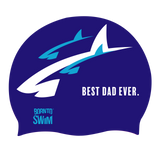 Parents Swim Cap Set - Best Mom and Best Dad Ever